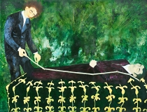 Length Width, Oil on Canvas, 180 x 240 cm, 2007