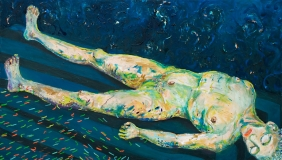 Metamorphosis I, Oil on Canvas, 120 x 220 cm, 2005